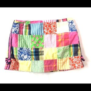 Lilly Pulitzer Skirt Patch work